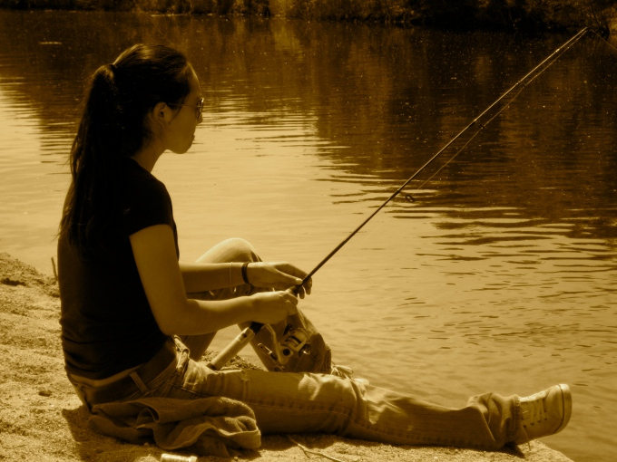 Natalie Fishing